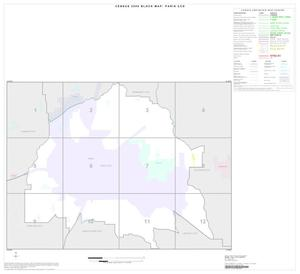 Primary view of object titled '2000 Census County Subdivison Block Map: Paris CCD, Texas, Index'.