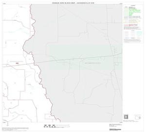 Primary view of object titled '2000 Census County Subdivison Block Map: Jacksonville CCD, Texas, Block 8'.