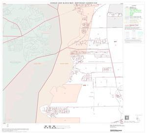 Primary view of object titled '2000 Census County Subdivison Block Map: Northeast Harris CCD, Texas, Block 5'.