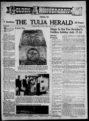 Primary view of object titled 'The Tulia Herald (Tulia, Tex), Vol. 31, No. 28, Ed. 1, Thursday, July 11, 1940'.