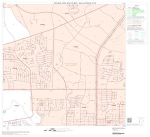 Primary view of object titled '2000 Census County Subdivison Block Map: San Antonio CCD, Texas, Block 62'.