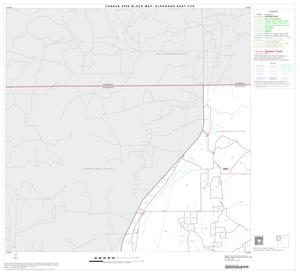 Primary view of object titled '2000 Census County Subdivison Block Map: Eldorado East CCD, Texas, Block 1'.