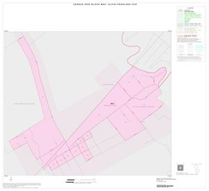 Primary view of object titled '2000 Census County Subdivison Block Map: Alvin-Pearland CCD, Texas, Inset C01'.