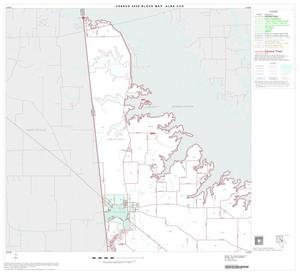 Primary view of object titled '2000 Census County Subdivison Block Map: Alba CCD, Texas, Block 1'.