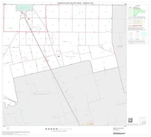 Primary view of object titled '2000 Census County Subdivison Block Map: Anson CCD, Texas, Block 4'.