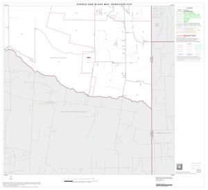 Primary view of object titled '2000 Census County Subdivison Block Map: Benavides CCD, Texas, Block 9'.