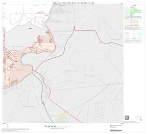 Primary view of object titled '2000 Census County Subdivison Block Map: Llano North CCD, Texas, Block 14'.