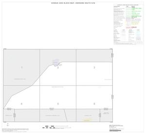 Primary view of object titled '2000 Census County Subdivison Block Map: Andrews South CCD, Texas, Index'.