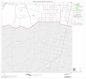 Primary view of object titled '2000 Census County Subdivison Block Map: Pecos CCD, Texas, Block 11'.