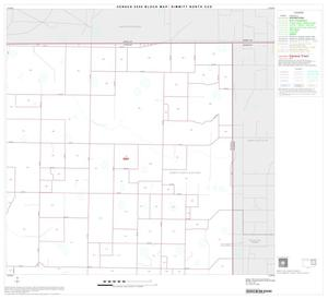 Primary view of object titled '2000 Census County Subdivison Block Map: Dimmitt North CCD, Texas, Block 3'.