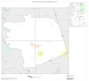 Primary view of object titled '2000 Census County Subdivison Block Map: Brookshire CCD, Texas, Index'.