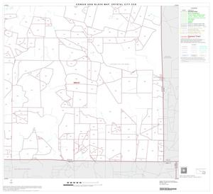 Primary view of object titled '2000 Census County Subdivison Block Map: Crystal City CCD, Texas, Block 8'.