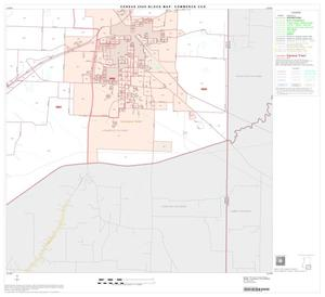 Primary view of object titled '2000 Census County Subdivison Block Map: Commerce CCD, Texas, Block 6'.