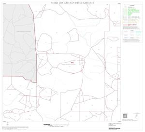 Primary view of object titled '2000 Census County Subdivison Block Map: Sierra Blanca CCD, Texas, Block 4'.