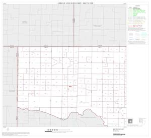 Primary view of object titled '2000 Census County Subdivison Block Map: Earth CCD, Texas, Block 1'.