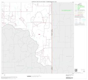 Primary view of object titled '2000 Census County Subdivison Block Map: Samnorwood CCD, Texas, Block 6'.