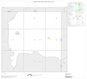 Primary view of object titled '2000 Census County Subdivison Block Map: Baird CCD, Texas, Index'.