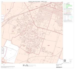 Primary view of object titled '2000 Census County Subdivison Block Map: Temple CCD, Texas, Block 10'.