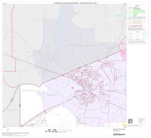 Primary view of object titled '2000 Census County Subdivison Block Map: Gladewater CCD, Texas, Block 1'.