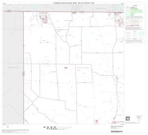 Primary view of object titled '2000 Census County Subdivison Block Map: Wills Point CCD, Texas, Block 1'.