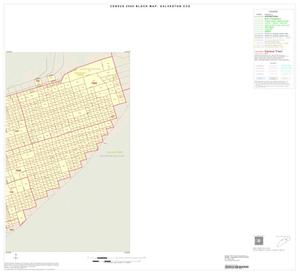 Primary view of object titled '2000 Census County Subdivison Block Map: Galveston CCD, Texas, Inset A02'.