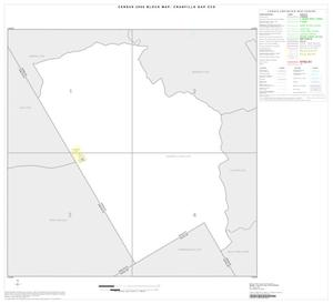Primary view of object titled '2000 Census County Subdivison Block Map: Cranfills Gap CCD, Texas, Index'.