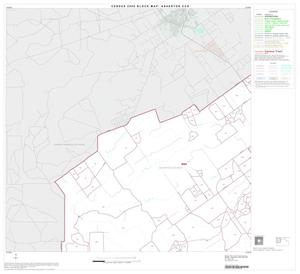 Primary view of object titled '2000 Census County Subdivison Block Map: Asherton CCD, Texas, Block 1'.
