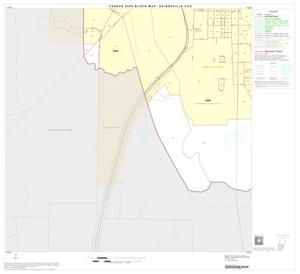 Primary view of object titled '2000 Census County Subdivison Block Map: Gainesville CCD, Texas, Block 5'.