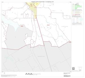 Primary view of object titled '2000 Census County Subdivison Block Map: Alvarado CCD, Texas, Block 8'.