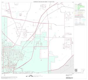 Primary view of object titled '2000 Census County Subdivison Block Map: Tyler CCD, Texas, Block 15'.