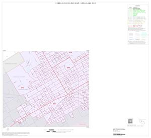 Primary view of object titled '2000 Census County Subdivison Block Map: Corsicana CCD, Texas, Inset C05'.