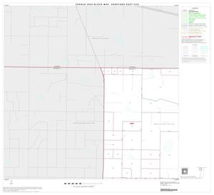 Primary view of object titled '2000 Census County Subdivison Block Map: Hereford East CCD, Texas, Block 1'.