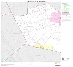 Primary view of object titled '2000 Census County Subdivison Block Map: Skidmore CCD, Texas, Block 1'.