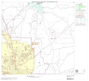 Primary view of object titled '2000 Census County Subdivison Block Map: Nacogdoches CCD, Texas, Block 6'.