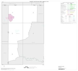 Primary view of object titled '2000 Census County Subdivison Block Map: Hamlin CCD, Texas, Index'.