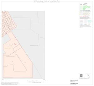 Primary view of object titled '2000 Census County Subdivison Block Map: Jourdanton CCD, Texas, Inset A04'.