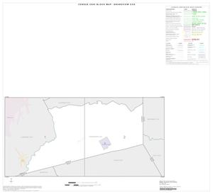 Primary view of object titled '2000 Census County Subdivison Block Map: Grandview CCD, Texas, Index'.