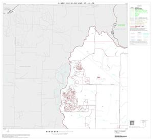 Primary view of object titled '2000 Census County Subdivison Block Map: St. Jo CCD, Texas, Block 1'.