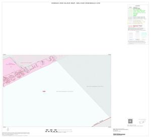 Primary view of object titled '2000 Census County Subdivison Block Map: Bolivar Peninsula CCD, Texas, Inset A02'.