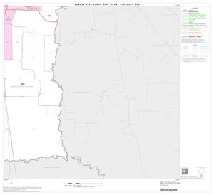 Primary view of object titled '2000 Census County Subdivison Block Map: Mount Pleasant CCD, Texas, Block 10'.
