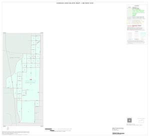 Primary view of object titled '2000 Census County Subdivison Block Map: Jim Ned CCD, Texas, Inset A01'.