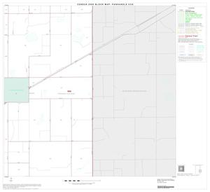 Primary view of object titled '2000 Census County Subdivison Block Map: Panhandle CCD, Texas, Block 9'.