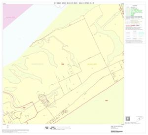 Primary view of object titled '2000 Census County Subdivison Block Map: Galveston CCD, Texas, Block 10'.