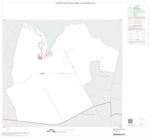 Primary view of object titled '2000 Census County Subdivison Block Map: Alvarado CCD, Texas, Inset C01'.