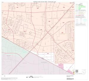 Primary view of object titled '2000 Census County Subdivison Block Map: Houston CCD, Texas, Block 99'.