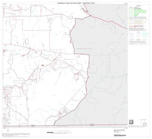 Primary view of object titled '2000 Census County Subdivison Block Map: Harper CCD, Texas, Block 4'.