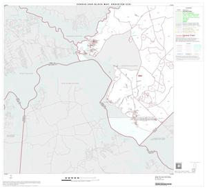 Primary view of object titled '2000 Census County Subdivison Block Map: Groveton CCD, Texas, Block 5'.