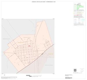 Primary view of object titled '2000 Census County Subdivison Block Map: Normangee CCD, Texas, Inset A01'.