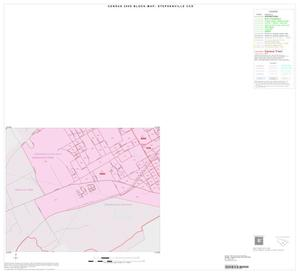 Primary view of object titled '2000 Census County Subdivison Block Map: Stephenville CCD, Texas, Inset A03'.