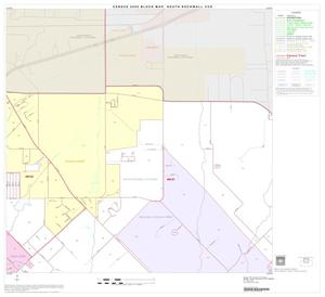 Primary view of object titled '2000 Census County Subdivison Block Map: South Rockwall CCD, Texas, Block 2'.